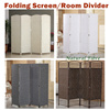 【Local stock!】【Folding Screen/Room Divider/Partition】Solutions for Fengshui partition and privacy!