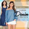[19 JUL New Arrivals] Denim Dress. Tops. Bottoms Collections