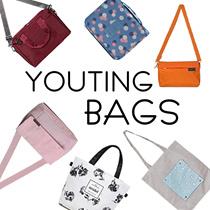 【YOUTING】Trendy handbag pouch wallet wristlet laptop bag travel bag organizer passport cover
