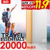 🌟HXR 20000mAh Remax NOTE 30000mAh🌟 10000mAh Powerbank 2.1A fast charging of big capacity
