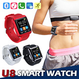 ★U8 Smartwatch★ Smartwatch U Watch U8 U9 UPro Bluetooth Touchscreen Smart Watch with with SIM Card Slot For iPhone4s 5s/iPhone6/Samsung Galaxy S5/S4/S3/Note3/Note2/LG G3/Sony Z2/HTC