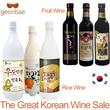 [Geonbae Korea Wine] Sejong Chestnut Makgeolli / Premium Icheon Makgeolli / Hallabong Mandarin Orange Makgeolli / Bokbunja Korean Raspberry Mulberry Wild Grape Wine / Korea Wine liquor