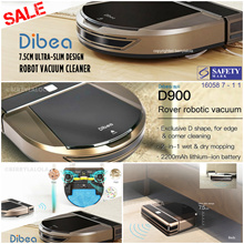 ⚡【⏰ FLASH SALE】Dibea®  D900 Rover Robot Cleaner 🌟 Jap Motor 🌟Lithium Battery🌟More choices inside.