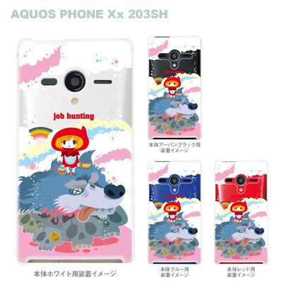 【TORRY DESIGN】【AQUOS PHONE Xx 203SH】【Soft Bank】【ケース】【カバー】【スマホケース】【クリアケース】【アート】【job hunting】 27-203sh-tr0025の画像