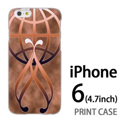 iPhone6 (4.7インチ) 用『No3 金のエンブレムロゴ』特殊印刷ケース【 iphone6 iphone アイフォン アイフォン6 au docomo softbank Apple ケース プリント カバー スマホケース スマホカバー 】の画像