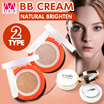 Hot sales!!! Air Cushion/ BB cream/ CC cream/ Extremely access to skin/ Breathable/ Light beige/ Natural/ Air puff/ Snow white/ Brighten/ Facial/ Make up   【M18】