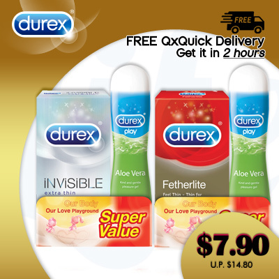 [RB]?FREE QxQuick Delivery | GET in 2hours! ?AUTHENTIC DUREX CONDOMS! ?SAFE FUN BUY NOW!? Deals for only S$14.8 instead of S$14.8