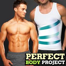 KOREA TV homeshopping HIT 200.000 sold! New Body Style MENs BODY SHAPER Tummy Shaper slimming Waist Body Control Shapewear diet sleeveless dress Underwear Corset Sports Wear seamless corrects slim