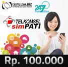 Topup Pulsa Reguler Telkomsel Rp 100.000 (Ready 24 Jam REALTIME) Non Stop!!!