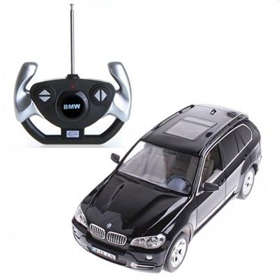 Black Rastar 1:14 BMW X5 Car Model with Remote Control RM189Bの画像