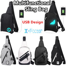Canvas sling bag/Nylon Sling Bag/Mens bag/Messenger Bag/Student Bag/Casual Bag/Sling Bag/Backpack