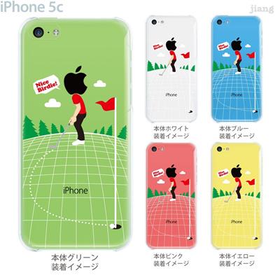【iPhone5c】【iPhone5c ケース】【iPhone5c カバー】【ケース】【カバー】【スマホケース】【クリアケース】【クリアーアーツ】【ゴルフ】 10-ip5c-ca0086の画像