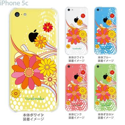 【iPhone5c】【iPhone5cケース】【iPhone5cカバー】【ケース】【カバー】【スマホケース】【クリアケース】【フラワー】【vuodenaika】 21-ip5c-ne0006caの画像