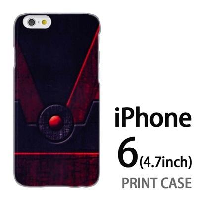 iPhone6 (4.7インチ) 用『No3 鋼の扉ボタン』特殊印刷ケース【 iphone6 iphone アイフォン アイフォン6 au docomo softbank Apple ケース プリント カバー スマホケース スマホカバー 】の画像
