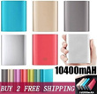 BUY 2 FREE SHIPPING!★ lowest price sales promotion in this week★ 10400mAh.16000mAh Powerbank Portable Charger for iPhone 5/5S/6/6 Plus/Samsung S4/S5/S3/S2/NOTE 2/NOTE 3/ NOTE 4