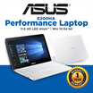 **100% Authentic Singapore Seller** (ASUS Everyday Performance Laptop)E200HA 11.6 HD LED Atom™ x5-Z8300 Processor 2M Turbo to 1.84 GHz Win 10 64 bit/1 YEAR INTERNATIONAL WARRANTY