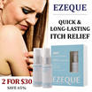 ★ECZEMA FAST ITCH RELIEF★ EZEQUE Skin Therapy 2 x 30ml Pack. 100% NATURAL PLANT-BASED! NO STEROIDS!!