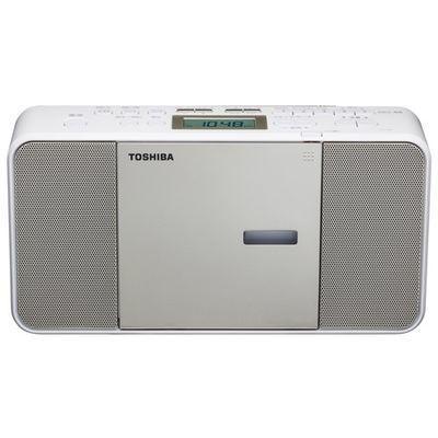 東芝CDラジオ(サテンゴールド)(※カセット機能はついておりません)TY-C300(N)