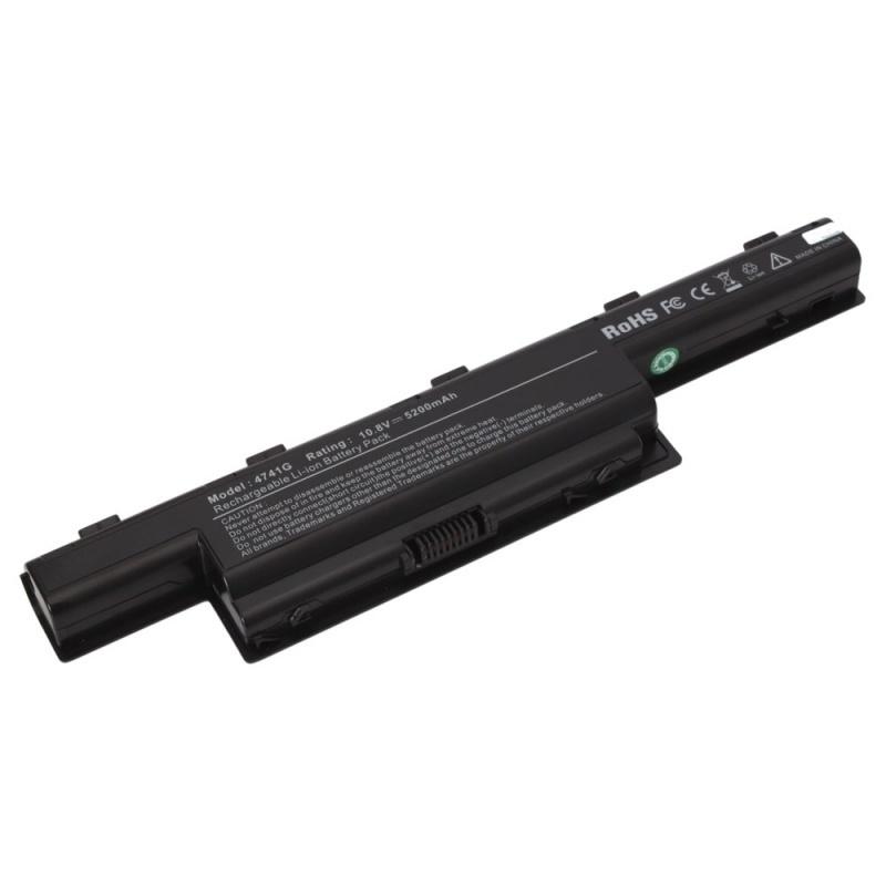 【クリックで詳細表示】5200mAh Battery for Acer AS10G3E AS10D73 Aspire 4771 5741Z 4251 4252 4253G 4552