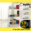 3 and 4 TIER SLIM RACK (WIDE) [CITYLIFE BY CITYLONG IS SINGAPORE PLASTIC STORAGE CONTAINER BOX AND LIFESTYLE HOME ORGANIZATION SPECIALISTS