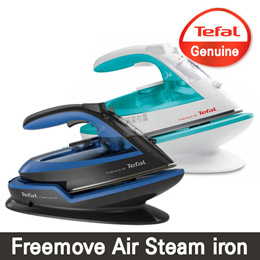 [Jan 04-06 $10Coupon] TEFAL/ 2018 New Freemove Air Cordless steam iron / FV6521 FV6520 /Strong conti