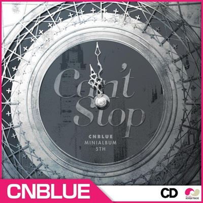 K-POP セールイベント【安心国内発送】【韓国盤CD】 シエンブルー( CNBLUE ) - CANT STOP(MINI ALBUM)【初回ポスター付き】 / - CANT STOP(5TH MINI ALBUM)の画像