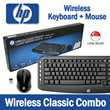 HP Wireless Classic Keyboard + Mouse Combo !!!