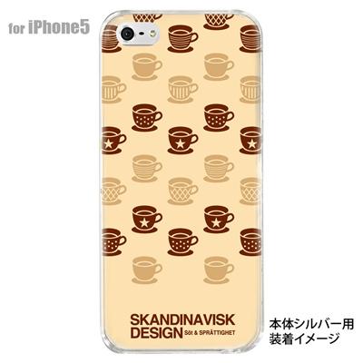 【iPhone5S】【iPhone5】【Clear Fashion】【iPhone5ケース】【カバー】【スマホケース】【クリアケース】【フラワー】【北欧デザイン】 10-ip5-skv-10の画像