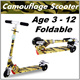 Adult/Kid Foldable Scooter