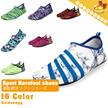 [Unisex:29~44 Sizes]2016 New Ver.-Non skid rubber sole design▶Breathable Sport Barefoot Skin Shoes with Zippered Bag◀GBE GDC-Korea High Quality Material/ Aqua Shoes/ Ultra light/ 27 colors