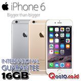 iPhone 6 16GB (INTERNATIONAL GUARANTEE)FREE SHIPPING JABODETABEK!!!