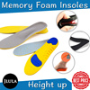 [Insoles]/Air Cushion/Tall/Height Increase for Shoes/Comfortable/Unisex Insole/Memory foam/Impact