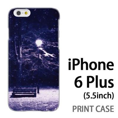 iPhone6 Plus (5.5インチ) 用『1218 孤独な夜』特殊印刷ケース【 iphone6 plus iphone アイフォン アイフォン6 プラス au docomo softbank Apple ケース プリント カバー スマホケース スマホカバー 】の画像