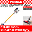 DYSON V8 Fluffy cordless suction Vacuum Cleaner  - SINGAPORE WARRANTY
