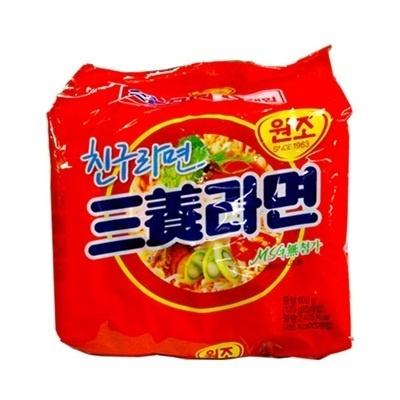 【韓国食品・韓国ラーメン】 ■韓国の三養ラーメン5個セット(辛さ1)■の画像