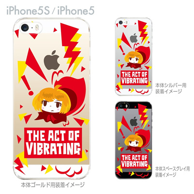 【iPhone5S】【iPhone5】【TORRY DESIGN】【Clear Arts】【iPhone5ケース】【カバー】【スマホケース】【クリアケース】 27-ip5s-tr0028の画像