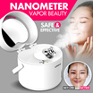 Ulike Facial Skin Nanoe Electric Thermal Spray Salon Moisturizing Steamer/ Moisturizing/ Safer and Much Effective/ Bring Hydration to Deeper Layers of Skin/ Deep Pay/ Fast Dry/Pore Clean【M18】