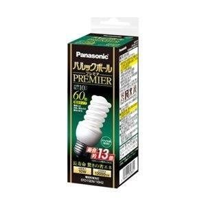 【クリックで詳細表示】EFD15EN10H2 [パナソニック 電球形蛍光灯 E26口金 60W電球タイプ (昼白色) パルックボールプレミア D15形 ナチュラル色]Panasonic