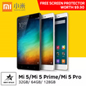 ★2016 Best Seller!★ Xiaomi Mi 5/Mi 5 Prime/Mi 5 Pro [3GBRAM+32GB]/[3GBRAM+64GB]/ [4GBRAM+128GB](Export set/Brand New!!!/1 month warranty) Limited Sets! ~Ready Stocks~ New Launch!