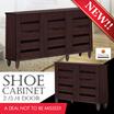[FURNITURE SALES] Best Selling 2Door  3Door  4Door Shoe Cabinet