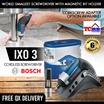 Bosch IXO 3 Cordless Screwdriver. World Smallest Screwdriver with magnetic bit holder. 3.6 V Li-ion