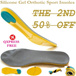 *The 2nd 50% Off*Silicone Gel Insoles* QXPRESS FREE!1 Pair Super Sport Support Memory Foam Orthotic Arch Shoe Insoles Pads Pain Relief