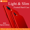 TORRAS★iPhone 7/7plus/6/6s case★ultra slim★frosted★shockproof anti-fingerprint★free tempered glass