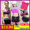 3 pcs Yoga Set / Sports Set / Running Attire / Local Seller/ Premium Sports Yoga Zumba Gym Running Bra Premium Ladies Sports Bra / Exercise Fast Delivery / Most Affordable Price