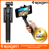 Selfie Stick with Remote Shutter for iPhone 6S/6S Plus/6/6 Plus/note5/Galaxy S6 Edge/Nexus 5x/Nexus 6P by Spigen S520/S520W 100% Authentic Free Fast Local Delivery