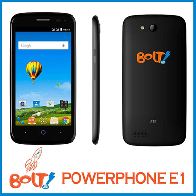 Buy BOLT PowerPhone E1 4G LTE Deals for only Rp879.900 instead of Rp1.200.000
