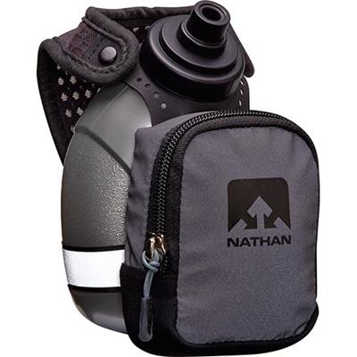 ネイサン(NATHAN) Quickshot Plus (Black Light) B61401000 BLKR 300ml 【ランニング ジョギング ウォーキング ハンドボトル 軽量】の画像