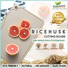 CNY PROMO [ Ricehusk Cutting Board CLASSIC ] Designed by Martin Yan   anti-bacterial