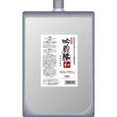吟蔵醸 プレシェーブクリームN 1000ml (業務用) 【吟蔵醸/肌/やさしい/ヒゲ/軟化/しっとり/シェービング/クリーム/無香料/弱酸性】
