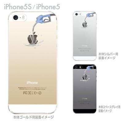 【iPhone5S】【iPhone5】【iPhone5sケース】【iPhone5ケース】【カバー】【スマホケース】【クリアケース】【クリアーアーツ】【アップルにガソリン】 06-ip5s-ca0030の画像